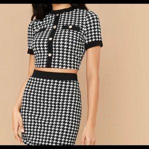 Skirt & Crop Top SET